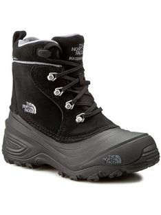 The North Face Śniegowce Youth Chilkat Lace II T92T5RKZ2 Czarny