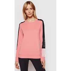 Bluza damska Adidas różowa jesienna