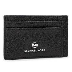Etui na karty kredytowe MICHAEL MICHAEL KORS - Jet Set Charm 34H0ST9D1K  Black
