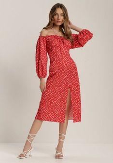 Czerwona Sukienka Hurinez