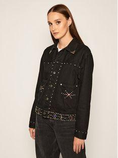 Polo Ralph Lauren Kurtka jeansowa 211799678001 Czarny Regular Fit