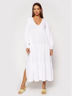 Seafolly Sukienka codzienna Habitat 54458 Biały Relaxed Fit