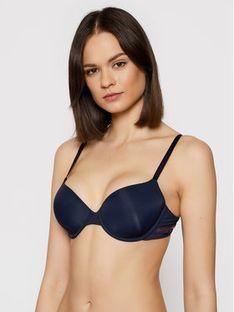 Emporio Armani Underwear Biustonosz z fiszbiną 165278 1P284 00135 Granatowy