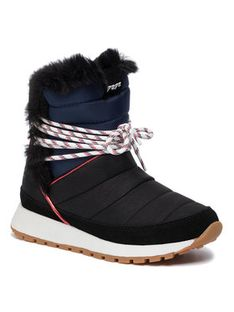 Pepe Jeans Botki Dean Ice PLS30884 Czarny