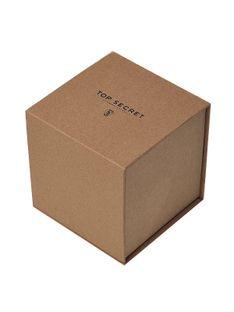 Pudełko prezentowe eko z recyklingowanego papieru