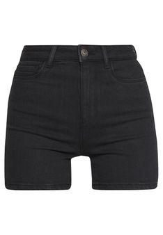 ONLY Petite - Szorty jeansowe - czarny