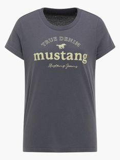 "Mustang ""Alina C Print"" Dark Blue Grey"