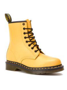Dr. Martens Glany 1460 Smooth 24614700 Żółty