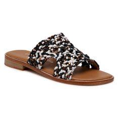 Klapki EMU AUSTRALIA - Kadina Tri W12454  Black/Coconut/Noir/Blanc Coco