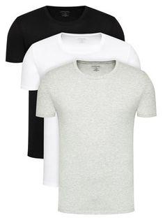 Calvin Klein Underwear Komplet 3 t-shirtów 000NB4011E Kolorowy Classic Fit