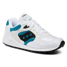 Sneakersy SAUCONY - Jazz 4000 S70487-2 Wht/Tea/Blk