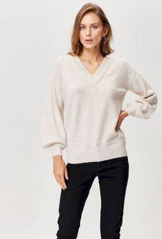 Sweter z wiązaniem na plecach