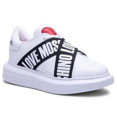 Sneakersy LOVE MOSCHINO - JA15254G1CIA0100 Bianco