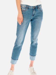 Jeansy z podwijanymi nogawkami Red Button 2783.LULU.BLUE