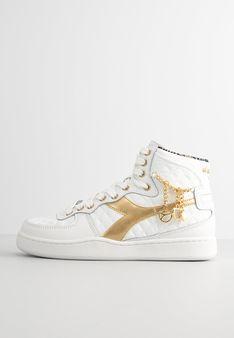 Diadora - Sneakersy wysokie - biały