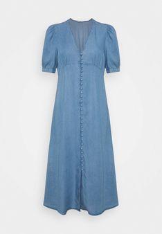 ONLY Petite - Sukienka jeansowa - niebieski denim