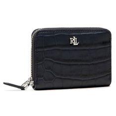 Mały Portfel Damski LAUREN RALPH LAUREN - Sm Zip Wallet Small 432836656002  Navy