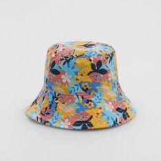 Reserved - Kapelusz bucket hat w kwiaty - Wielobarwny
