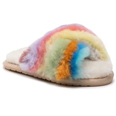Kapcie EMU AUSTRALIA - Mayberry Rainbow Teens T12576 Multi