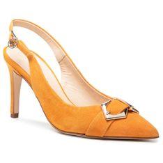 Sandały SOLO FEMME - 75509-11-L77/000-05-00 Pomarańczowy