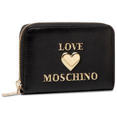 Duży Portfel Damski LOVE MOSCHINO - JC5621PP1CLF0000  Nero