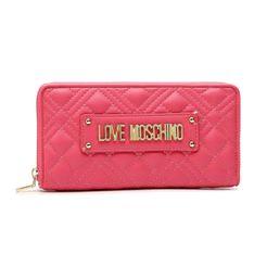 Duży Portfel Damski LOVE MOSCHINO - JC5600PP1CLA0604  Fuxia