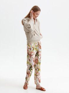 Krótka bluza damska z kapturem