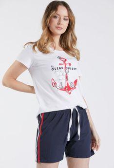 Krótkie spodenki od piżamy