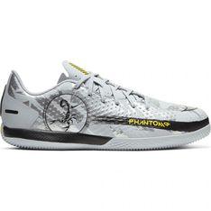 Buty piłkarskie Nike Phantom Gt Scorpion Academy Ic Jr DA2281 001 niebieskie niebieskie