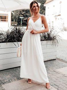 Sukienka damska 036DLR - biała