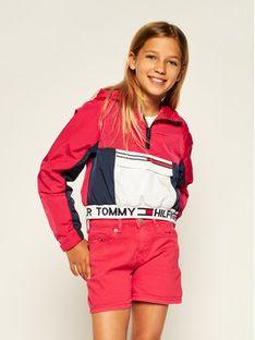 Tommy Hilfiger Kurtka anorak Popover KG0KG05018 Kolorowy Regular Fit