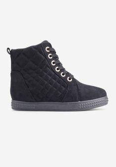 Sneakersy czarne 1 Lananie