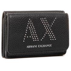 Mały Portfel Damski ARMANI EXCHANGE - 948482 CC284 0020 Nero
