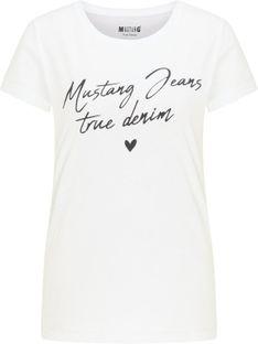 "Mustang ""Alexia C Print"" White"