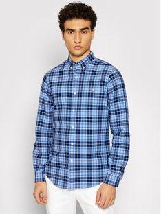 Polo Ralph Lauren Koszula Oxford 710844537001 Niebieski Slim Fit