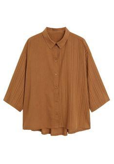 Mango - Koszula - brązowy