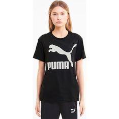 Bluzka damska Puma z krótkimi rękawami bawełniana w sportowym stylu wiosenna
