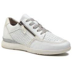 Sneakersy JANA - 8-23751-26 White/Silver 191