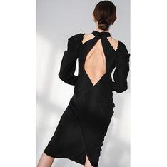 Sukienka Gosia Baczyńska z długim rękawem