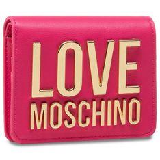Mały Portfel Damski LOVE MOSCHINO - JC5612PP1CLJ060A Fuxia