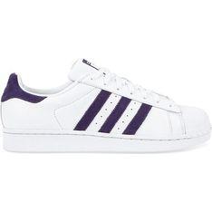 Trampki męskie Adidas superstar sznurowane białe