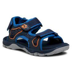Sandały JACK WOLFSKIN - Taraco Beach Sandal K 4039531 S Blue/Orange