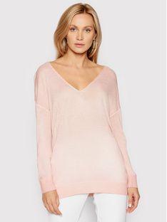 Guess Sweter W1GR14 Z2UA0 Różowy Regular Fit