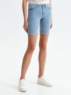 Jeansowe szorty przed kolano