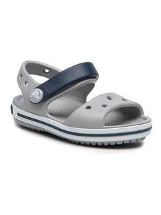 Crocs Sandały Crocband Sandal 12856-01U Szary