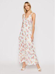 Pepe Jeans Sukienka letnia Fionas PL952831 Biały Regular Fit