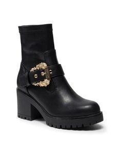 Versace Jeans Couture Botki 71VA3S92 Czarny