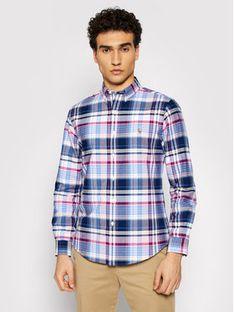 Polo Ralph Lauren Koszula Oxford 710844537003 Różowy Slim Fit