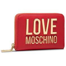 Duży Portfel Damski LOVE MOSCHINO - JC5613PP1CLJ050A Rosso