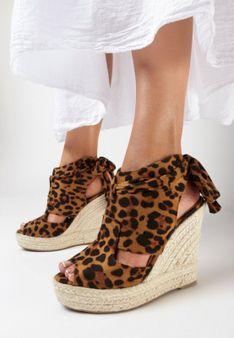 Panterkowe Sandały Thassa